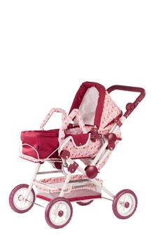 Kolli: 1 Doll stroller 4-wheel, HappyFlowers