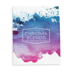 Kolli: 6 Chroma Blends Watrercolor Paper Pad