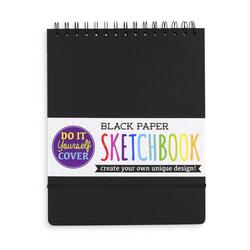 Kolli: 6 DIY Sketchbook - Large - Black