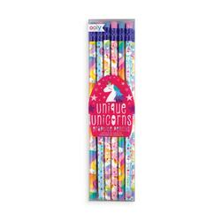Kolli: 12 Graphite Pencils - Set of 12 - Unique Unicorns