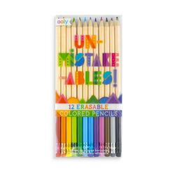 Kolli: 6 UnMistakeables Erasable Colored Pencils - Set of 12