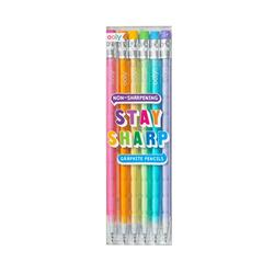Kolli: 12 Stay Sharp Pencils - Set of 6
