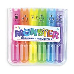 Kolli: 1 Mini Monsters Scented Highlighters - Display of 24