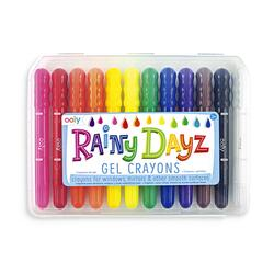 Kolli: 6 Rainy Dayz Gel Crayons - Set of 12
