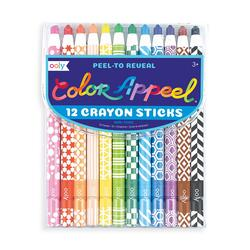 Kolli: 6 Color Appeel Crayons - Set of 12