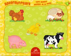 Kolli: 1 Frame puzzle Farm animals character non-related