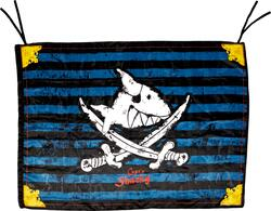 Kolli: 3 Pirate flag Capt'n Sharky