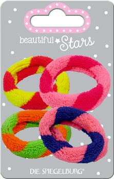 Kolli: 6 Hair Tie Terry Cloth Hair Accessories