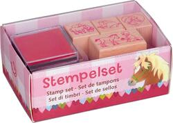 Kolli: 8 Stamp Set Our Pony Farm