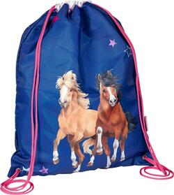 Kolli: 3 Sports Bag blue Horse Friends