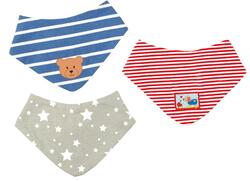 Kolli: 2 Neckerchiefs Teddy Baby Charms