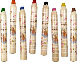 Kolli: 5 XXL coloured pencils Our Pony Farm
