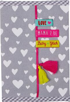 Kolli: 2 Fabric cover checkup book Baby Charms Baby Charms
