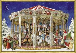Kolli: 3 Nostalgic Christmas Merry-Go-Round - For Export