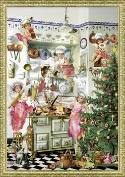 Kolli: 3 Nostalgic Advent Kitchen- For Export