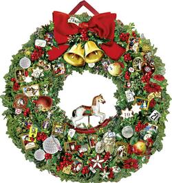 Kolli: 1 Christmassy Wreath- For Export
