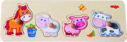 Kolli: 4 Clutching Puzzle Baby farm animals