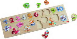 Kolli: 2 Clutching Puzzle Animals by number