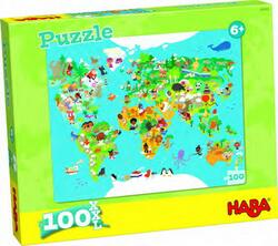 Kolli: 4 Puzzle World Map