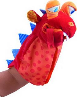 Kolli: 2 Glove puppet Eat-it-up