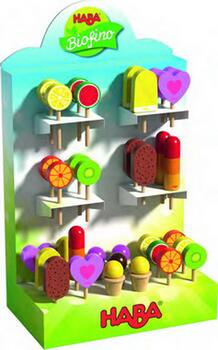 Kolli: 74 Display Sweet delights (10 ice-cream cones with ic