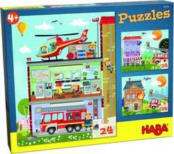 Kolli: 4 Puzzles Little Fire Station
