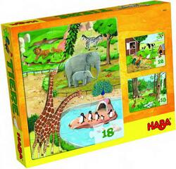 Kolli: 4 Puzzles Animals
