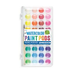 Kolli: 12 Lil' Watercolor Paint Pods & Brush