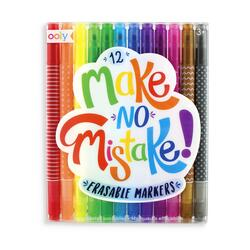 Kolli: 6 Make No Mistake! Eraseable markers - set of 12