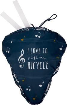 Kolli: 3 Bicycle seat cover - All about music