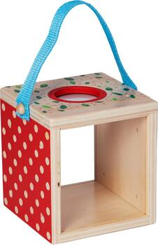 Kolli: 2 Wooden magnifying observation box