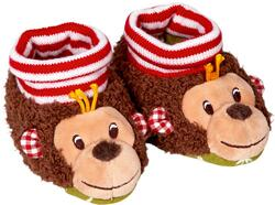 Kolli: 2 Baby shoes - monkey