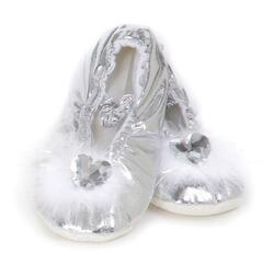Kolli: 2 Princess Slippers Silver MD 10-11