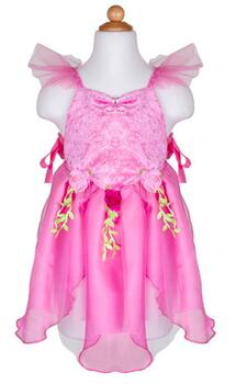 Kolli: 2 Forest Fairy Tunic, Dk Pink, Size 5-6