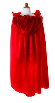 Kolli: 2 Royalty Cape Red, SIZE US 7-8