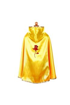 Kolli: 2 Reversible Snow White/Belle Cape, Red/Yellow, Size 5-6