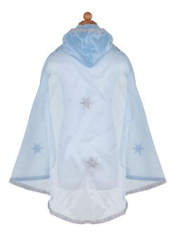 Kolli: 2 Snow Queen Cape, Blue Silver, Size 5-7