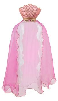 Kolli: 2 Mermaid Glimmer Cape, Pink, Size 5-6