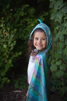Kolli: 2 Reversible Unicorn/Dragon Cape, Size 5-6