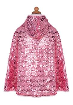 Kolli: 2 Reversible Sequins Sparkle Cape, Size 5-6