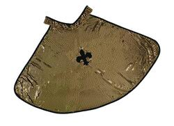 Kolli: 2 King Glitter Cape Gold, SIZE US 5-6