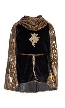 Kolli: 1 Gold Knight Tunic/Cape/Crown, SIZE US 9-10