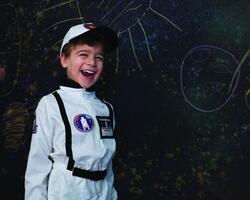 Kolli: 1 Astronaut Set Includes Jumpsuit, Hat & ID Badge, Size 5-6