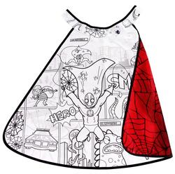 Kolli: 2 Colour-A-Cape Reversible Spider Superhero, Size 4-7, Boxed