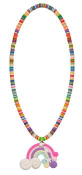 Kolli: 6 Lollypop/Rainbow Necklace, Assortment