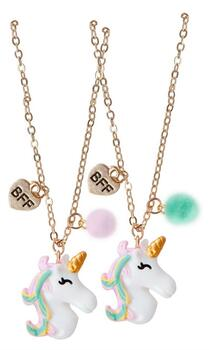 Kolli: 6 Unicorn BFF Necklace Set 2 Pcs