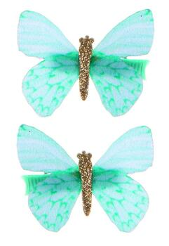 Kolli: 6 Butterfly Wishes Hair Clips, 2 Pcs, Assorted