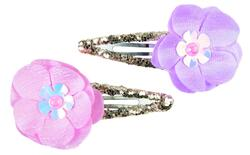 Kolli: 6 Flower Sparkle Hair Clips