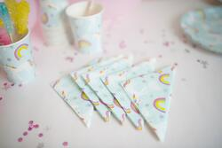 "Kolli: 4 Unicorn Napkins, 5"" (20 pcs)"
