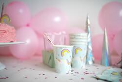 Kolli: 4 Unicorn Cups (8 pcs)